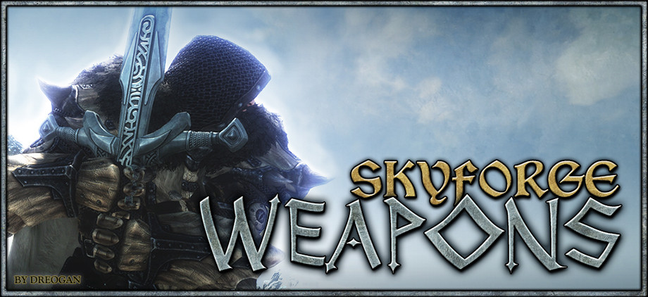 Skyforge Weapons Skyrim Mod: New Craftable Weapon Sets (Video) |