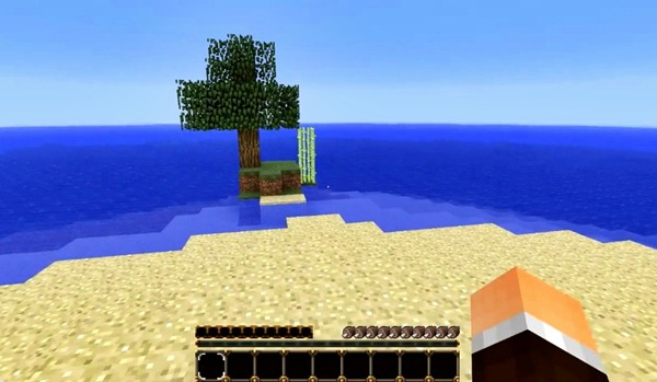 Minecraft Classic Survival Island Map: Dave Chaos Does an Awesome ...