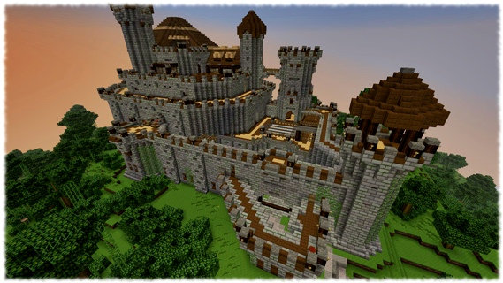 Minecraft Search for the Skyheart Adventure Map is Awesome (Video ...