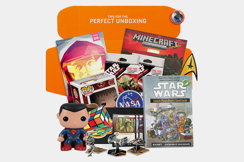 Loot Crate: Awesome Box of Goodies for Gamers and Geeks for 20 Bucks