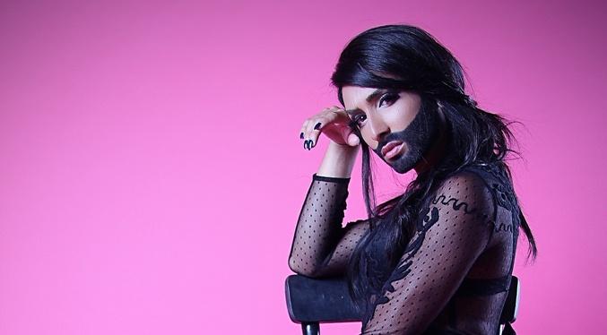 Conchita Wurst Stockholm Pride 2014