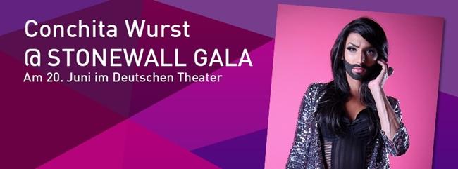 Conchita Wurst Stonewall Gala Berlin