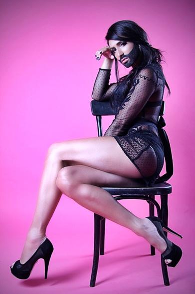 Conchita Wurst official press photo