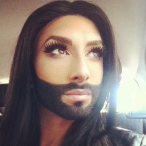 Conchita Wurst the eyes have it