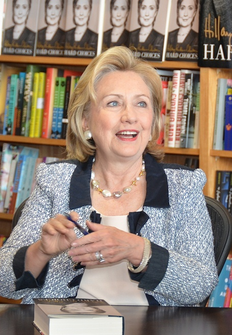 Hillary Clinton book signing Book Passage San Francisco California Hard Choices