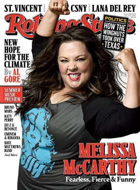 Melissa mccarthy on cover of rolling stone