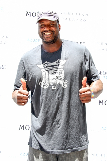 Shaquille O Neal Las Vegas Pool Party Palazzo