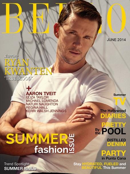 bello magazine ryan kwanten true blood cover