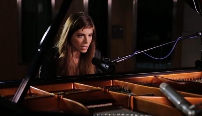 christina perri singing human live at british grove studios