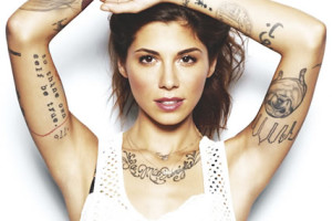 Christina Perri Talks About Her Tattoos, Why She Has Them and What They Are (Video)