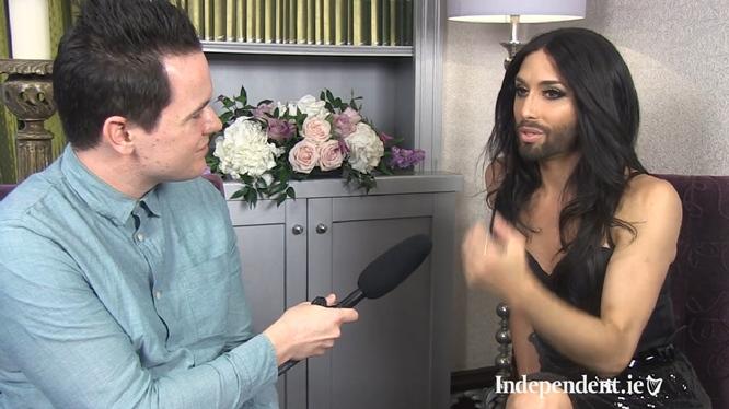 conchita wurst dublin ireland independent interview