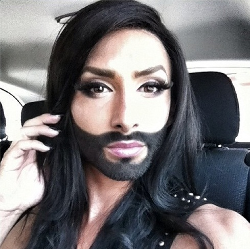 Worlds Biggest Car >> Most Beautiful Conchita Wurst Instagram Photos: So Many It's Hard to Choose - Leo Sigh