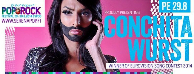 conchita wurst serena pop and rock finland