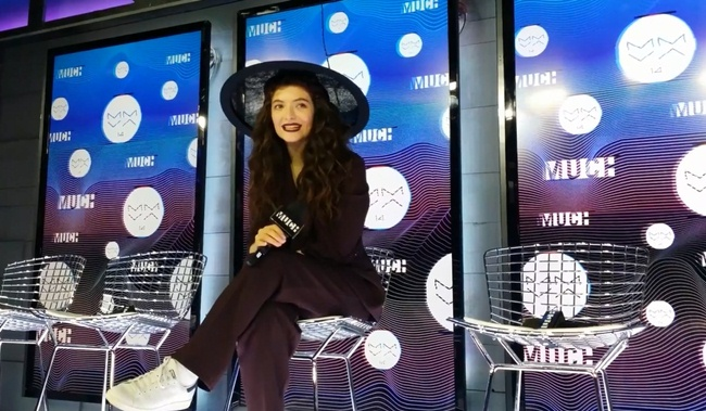 lorde interview much music awards 2014