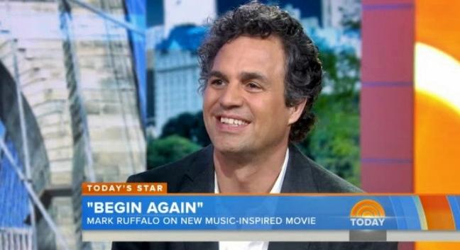 mark ruffalo today show begin again