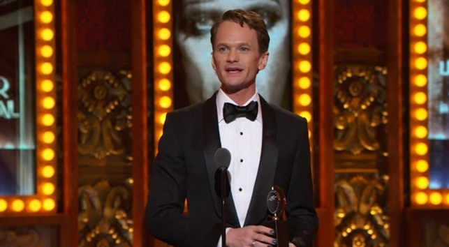 neil patrick harris leading actor in musical tony awards 2014