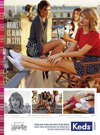 taylor swift keds ad 2 Teen Vogue August