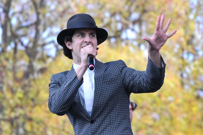 Paul Smith Maximo Park at British Summer Time Hyde Park June 2014