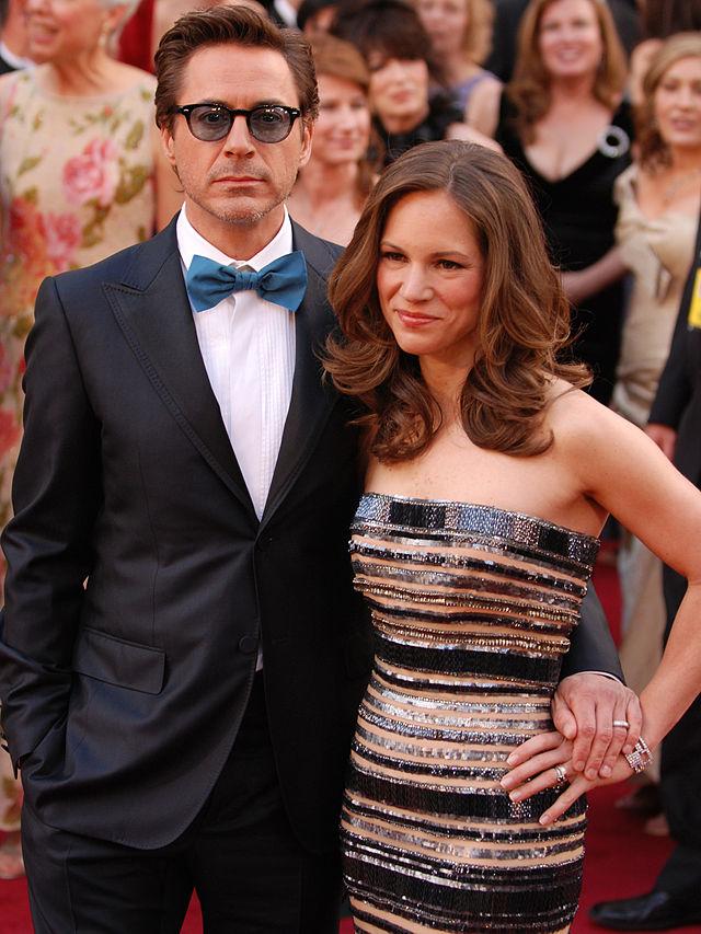 Robert Downey jr and wife susan