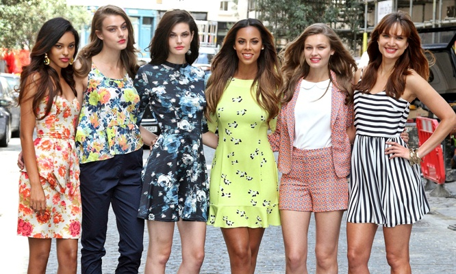 Rochelle Humes fashion collection line