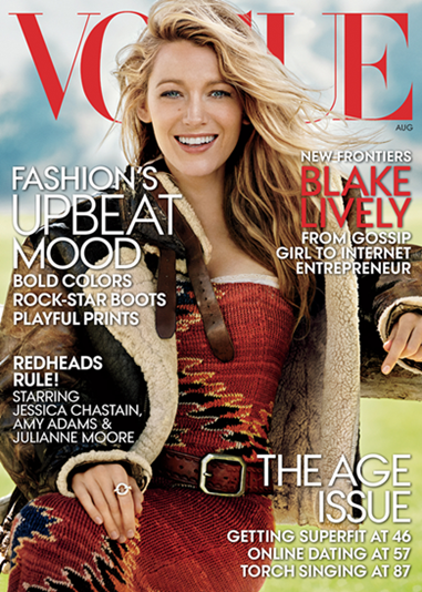 blake lively vogue cover august