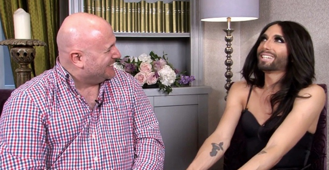 conchita wurst talks to garrett mulhall dublin ireland