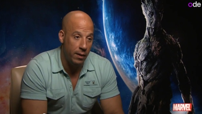 vin diesel talks about groot guardians of the galaxy