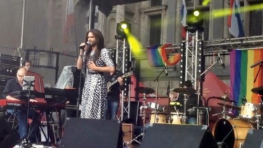 conchita wurst antwerp belgium pride