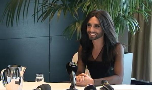 conchita wurst finland press conference
