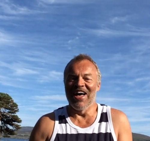 graham norton ice bucket challenge