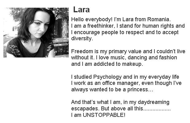 lara from romania bio