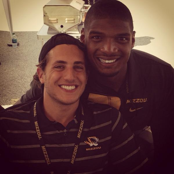 Michael Sam Has a Very Supportive Boyfriend: He's Gorgeous Too!