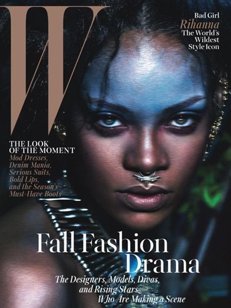 rihanna W Magazine cover