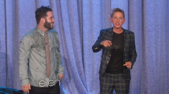 Ellen DeGeneres and ice bucket challenge