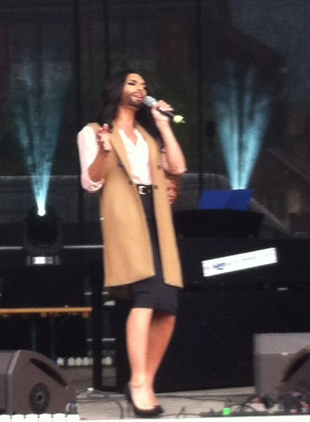 conchita wurst bad mitterndorf sound check