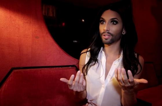 conchita wurst crazy horse paris cabaret show