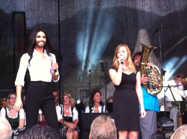conchita wurst live bad mitterndorf
