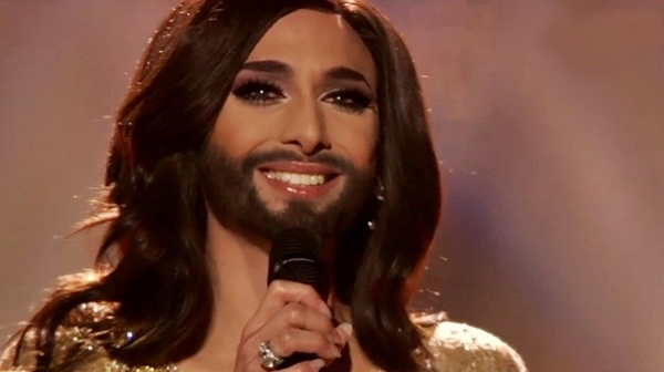 Conchita Wurst Singing in Bad Mitterndorf, Austria on Sunday September 7th, 2014