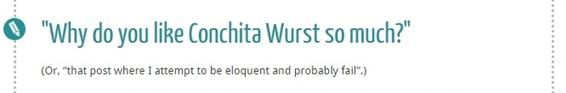 conchita wurst writer