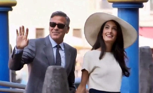 george clooney gets married to amal alamuddin