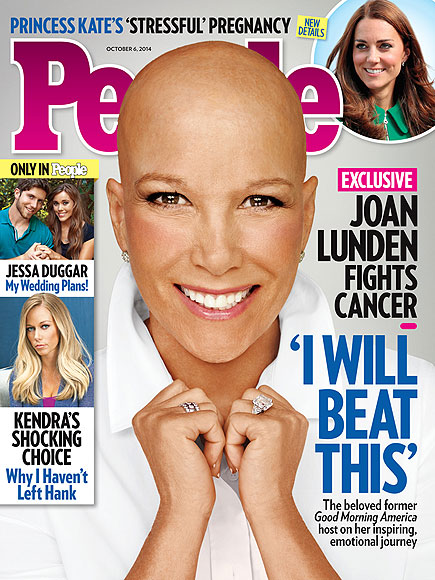 joan lunden shaved head people magazine cancer story