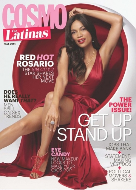 rosario dawson cover cosmo for latinas