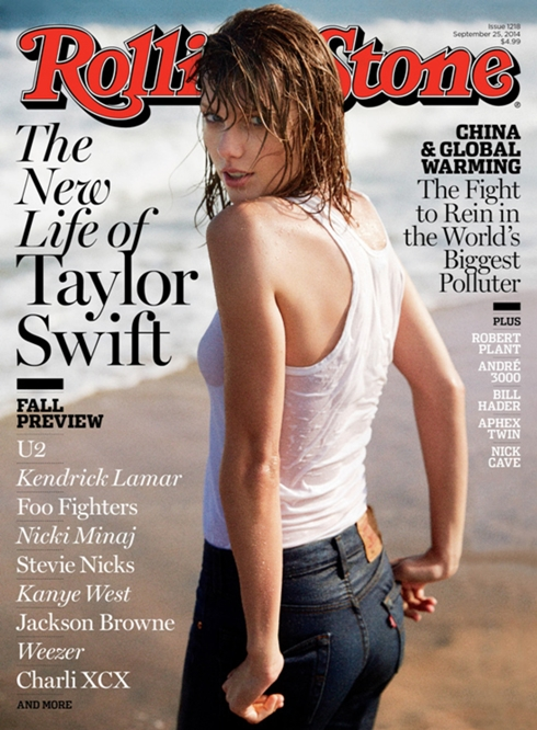 taylor swift rolling stone cove