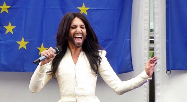 Conchita Wurst unchain my heart EU parliament