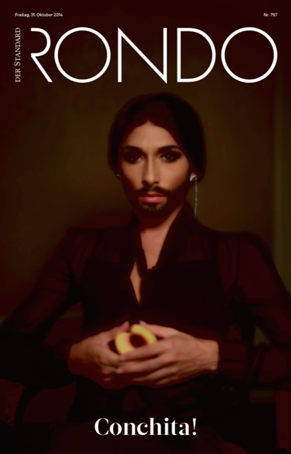 Conchita on cover of Rondo