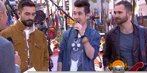 bastille pompeii live on the today show