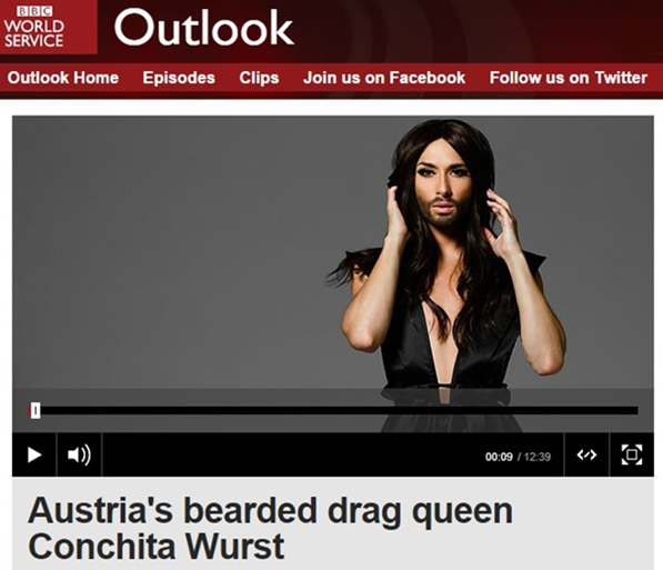 conchita wurst bbc radio outlook