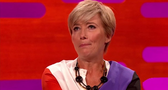 emma thompson flashes boobs to co stars