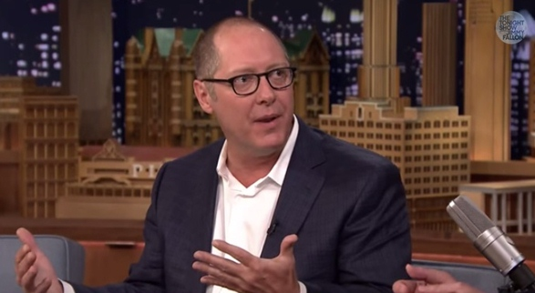 james spader talks about comic con