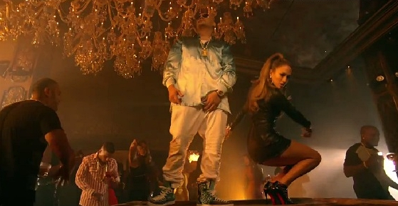 jennifer lopez sexy in fat joe stressin video